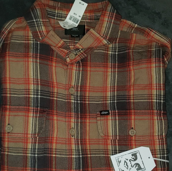 Obey Other - Men's Obey Button-Up Flannel